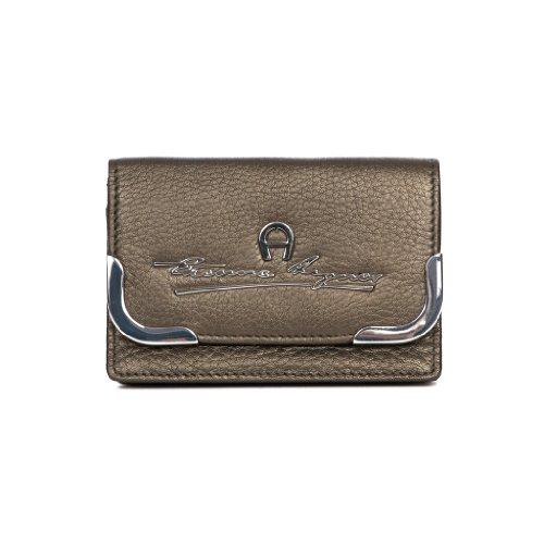 aigner-leder-kartentasche-bronze