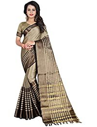 SATYAM WEAVES WOMEN'S ETHNIC WEAR BANARASI PLAIN ART SILK SAREE.(SARIKA)