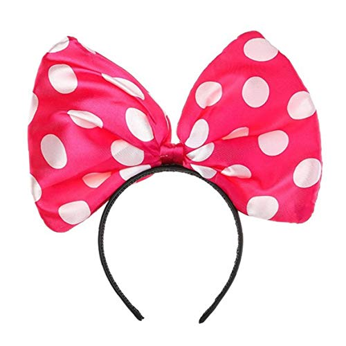 Bogen-Stirnband-Haar-Bands Big Bow Halloween Haar-Band-Frauen-Mädchen-Bogen Hairband Partei-Dekoration Kopfschmuck Cosplay Kopfbedeckung Handgefertigte Kopfschmuck Make-Up Haarschmuck