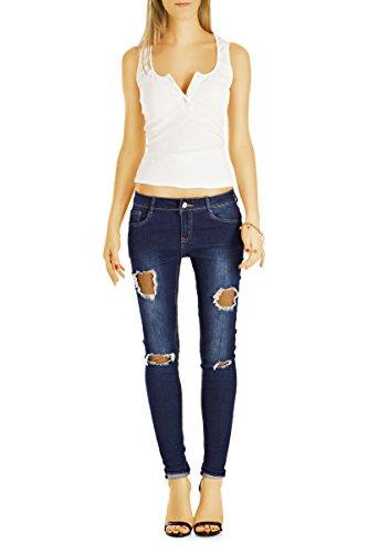 bestyledberlin -  Jeans  - skinny - Donna Spider Blue