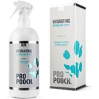 Spray desenredante para perros Pro Pooch (500 ml) | Spray acondicionador hipoalergénico para desanudar el pelo del perro | Libre de marañas | 50% menos tiempo dedicado al cepillado.