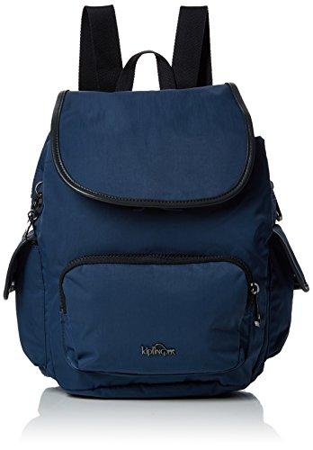Kipling Damen CITY PACK S Rucksack, Blau (Satin Blue C), 27x33.5x19 cm -
