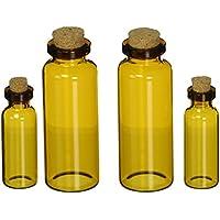 Prima Marketing Memory Hardware-Fiale di vetro, motivo: bancone della farmacia, Montpellier ambra - Vetro Abbellimenti