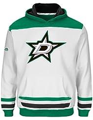 "Dallas Stars Jeunesse Youth Majestic NHL ""Lil' Double Minor"" Hooded Sweatshirt"