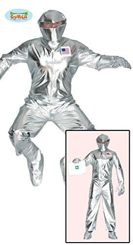 Astronaut Anzug Kostüm für Herren Gr. M/L, (Kostüme Astronaut)