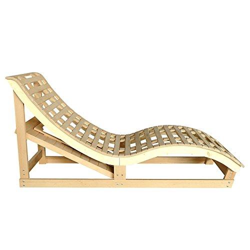 Infrarotkabine / Wärmekabine Billund Flächenstrahler & Hemlockholz | Infrarotsauna mit 2 Relaxliegen für 2 Personen | ArtSauna - 5