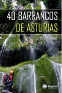 40 barrancos de Asturias por Pablo Solares Villar