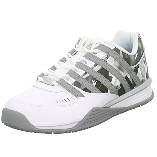 K-Swiss Herren Baxter Low-Top WhiteGrey