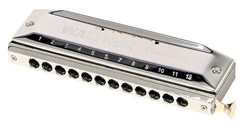 Gewa 798525 Mundharmonika Walther Chromatisch C-Dur 48 Stimmen