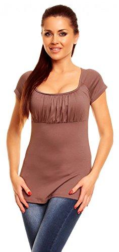 zeta-ville-donna-top-di-maglina-maniche-corte-t-shirt-scollo-quadrato-005z-cappuccino-it-42-l