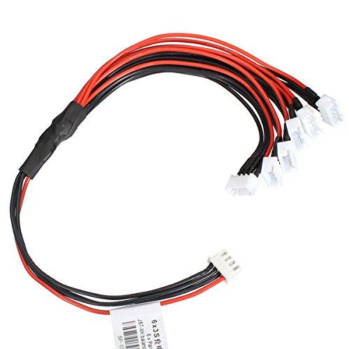 Ladicha 3S Cargador Cable Paralelo Conector Xh Interfaz 1 Arrastre 6