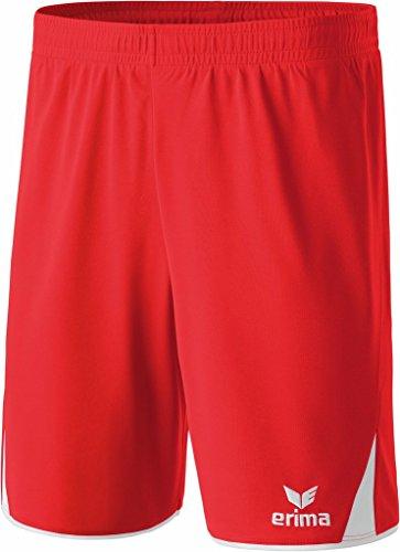 Erima 5-CUBES–Pantaloncini da donna rosso/bianco