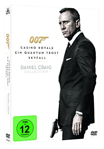 Daniel Craig - James Bond Collection (inkl. Skyfall, Casino Royale, Ein Quantum Trost) (3 DVDs) Royale Collection