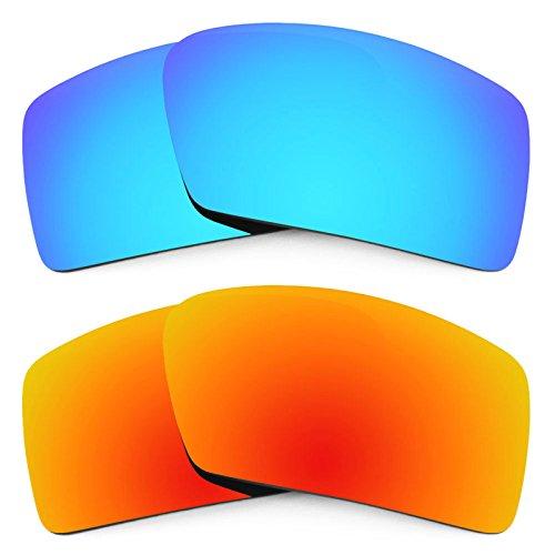 Revant Ersatzlinsen für Oakley Eyepatch 2 Polarisiert 2 Paar Kombipack K002