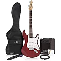LA Electric Guitar + Amp Pack Red