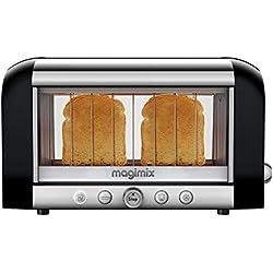 Magimix Vison - 11529- Grille-pain en inox 370 x 220 x 225 mm (Noir)
