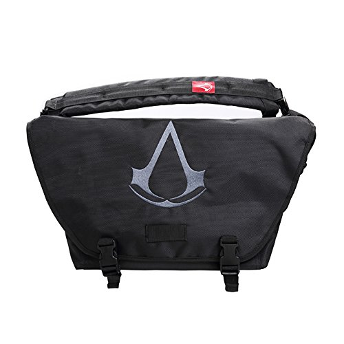 Borsa a tracolla Creed Borsa Iii Ubi Accessori Cosplay Nero Assassin
