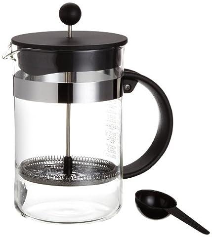Bodum bistroNOUVEAU Kaffeebereiter (French Press System, Spülmaschinengeeignet), 1,5 liters