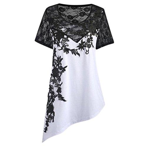 Damen Carmenbluse damenblusen Elegante Schwarze Festliche weiße Longbluse Seidenbluse Karierte blusenshirt rote weiß ()
