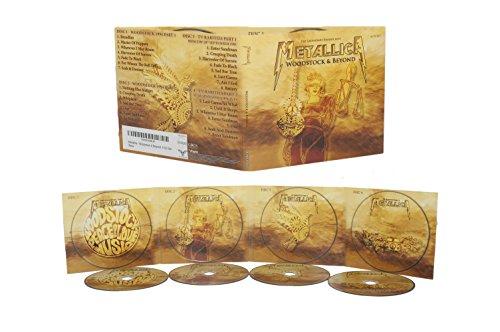 Metallica - Woodstock & Beyond: 4 CD Set