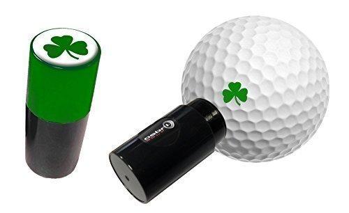 Kleeblatt Golfball Markierer / Stempel - grün