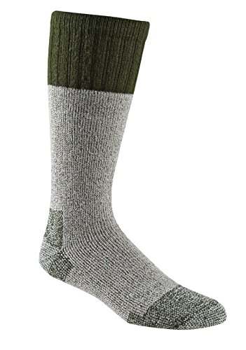 Fox River Outdoor Wick Dry Outlander schwere Thermo-Wolle Socken, Damen Unisex Herren, 7586 LG 05060 Olive DRAB, Braunoliv, Large -