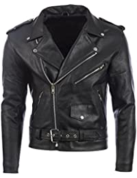 first rate 100aa fa061 Amazon.it: giacca di pelle uomo - Giacche / Giacche e ...