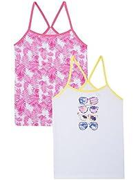 Absorba Mädchen Unterhemd 2 Top Sunglasses