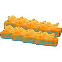 Renova Pañuelos faciales Red Label Naranjas - 80 pañuelos - [Pack de 8]