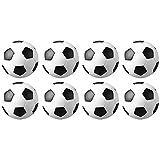 Chen Rui(TM 8 PCS Tischfußball Ersatzbälle Kickerbälle Kugeln Mini Ball (32mm)