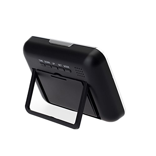 Multifunktions Uhr K18 Versteckte Kamera im digitalen Wecker mit Fernbedienung, Überwachungstechnik, Videos, Fotos und Audioaufnahmen, von Kobert-Goods