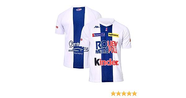 Rouen Metropole Basket Maillot Officiel Domicile 2018-2019 Camiseta de Baloncesto Unisex Adulto