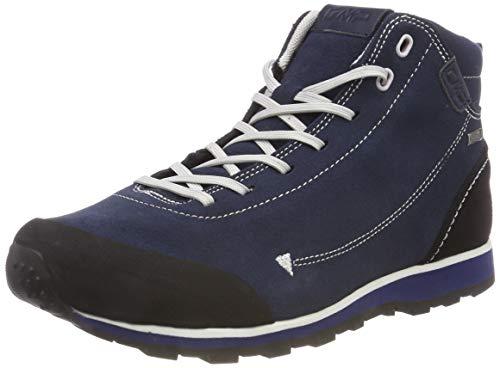 CMP Unisex-Erwachsene Elettra Mid Trekking- & Wanderstiefel, Blau (Black Blue N950), 36 EU