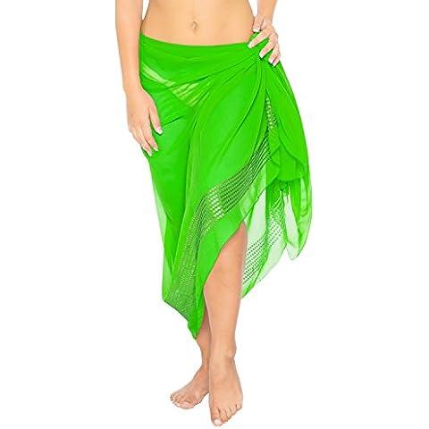 chiffon trasparente paillettes costume da bagno beachwear bikini delle donne coprire costumi da bagno sarong