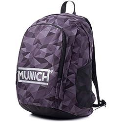 Munich 2018 Mochila Tipo Casual 48 cm, 18 litros, Gris