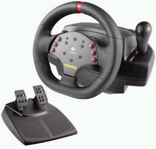 PC - MOMO Racing Force Feedback Wheel (Logitech)
