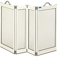Patterson Medical Carerscreen - Mampara de ducha portátil para cuidador con juntas inferiores