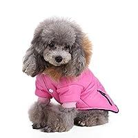 Smalllee Lucky Store étanche pour animal domestique Chien Sweat à capuche Hiver Manteau Down Combinaison d'hiver chaud Doggy Vêtements Chihuahua Veste ski Vêtements