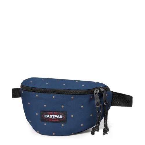 Eastpak Gürteltasche Springer, black, 2 liters, EK074008 Dot Blue