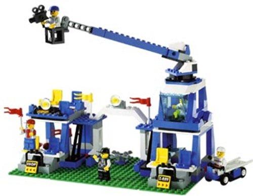 Haupteingang (LEGO 3408 - Haupteingang mit Stadion Crew, 213 Teile)