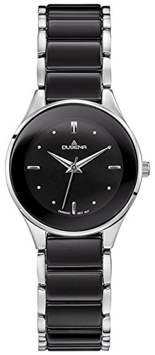 Dugena Women's Analogue Quartz Watch with Ceramic Strap 4460770