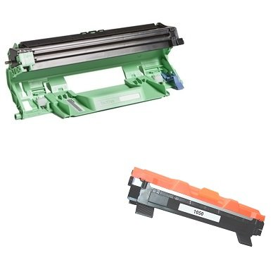 DR1050 Trommeleinheit & TN1050 Toner kompatibel mit Brother DCP-1510, DCP-1512, DCP-1610W, HL-1110, HL-1112, HL-1210W, MFC-1810, MFC-1910W (Kit Imaging Unit)