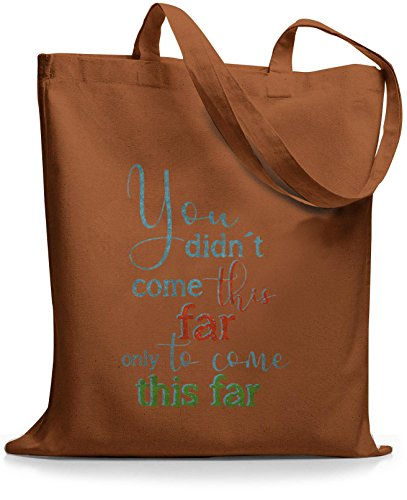 StyloBags Jutebeutel / Tasche You did not come this far Choco