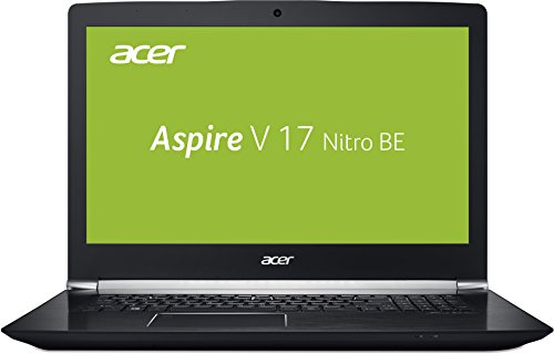 Acer Aspire V 17 Nitro (VN7-793G-53K5) 43,9 cm (17,3 Zoll FHD IPS matt) Gaming Notebook (Intel Core i5-7300HQ, 8GB RAM, 256GB PCIe SSD + 1TB HDD, GeForce GTX 1050Ti, USB 3.1 Type-C, Win 10) schwarz