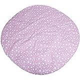 Barrutoys 00000415 -   Alfombra infantil para tipi con estrellas, color Rosa