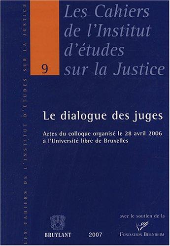 Le dialogue des juges