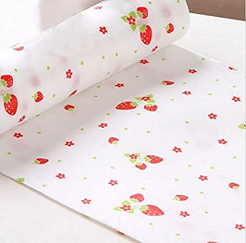 300cm Cute Polka Dots Shelf Contact Paper Cabinet Drawer Liner