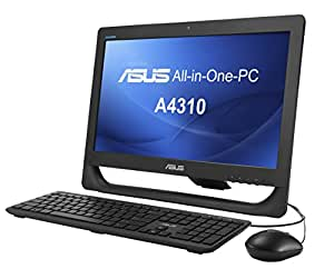 "Asus A4310-BB020T Ordinateur de bureau Tout-en-Un 20"" (50,80 cm) Noir (Intel Core i3, 4 Go de RAM, 500 Go, Intel HD Graphics, Windows 7)"