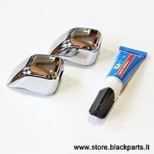 500 Chrome line - Cubrepulverizadores cromados para Fiat 500