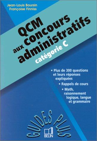 QCM aux concours administratifs, catégorie C